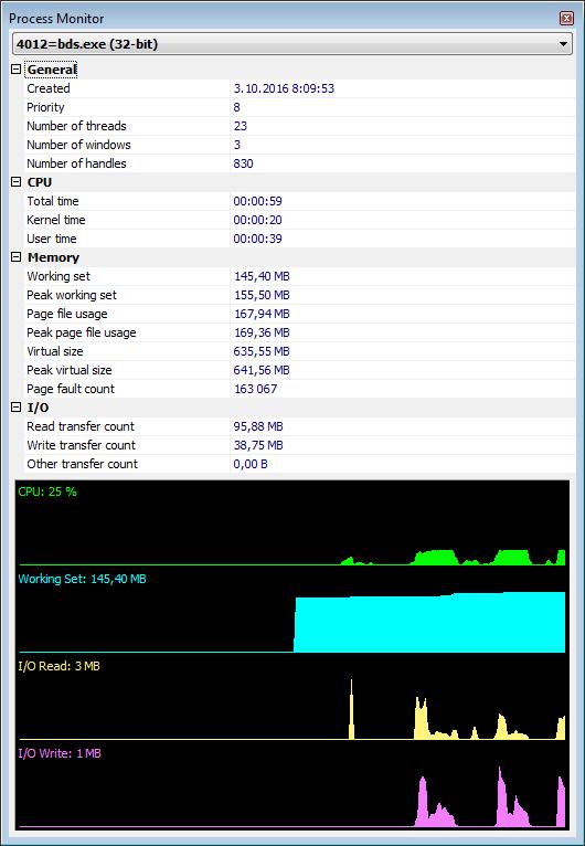 MiTeC InfoBar screenshot