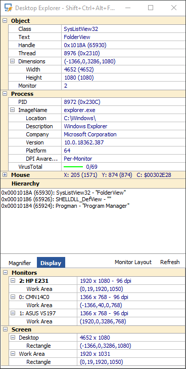 MiTeC Task Manager DeLuxe screenshot