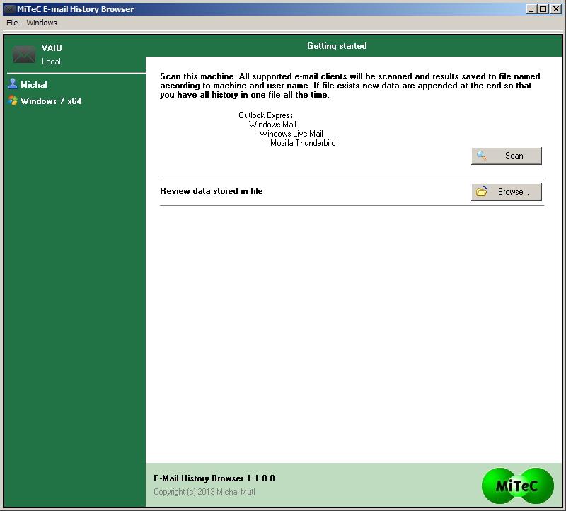 MiTeC Homepage