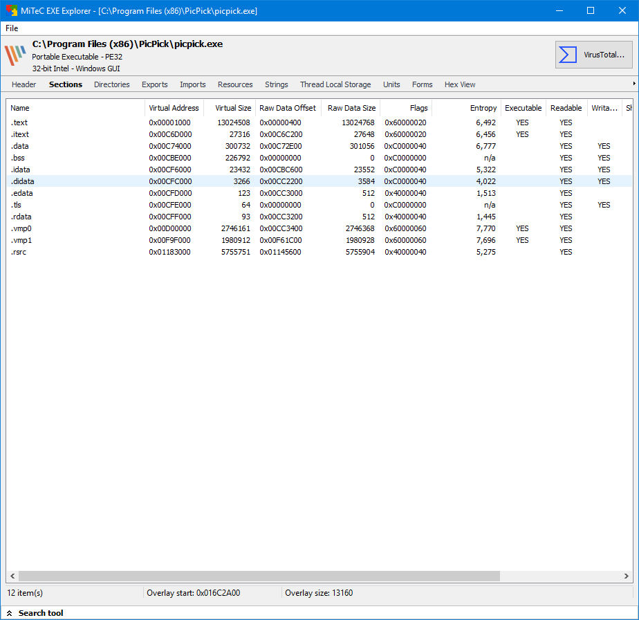 exe file viewer for windows 7