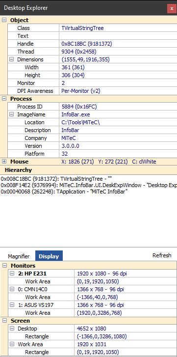 MiTeC InfoBar 3.8.0 full
