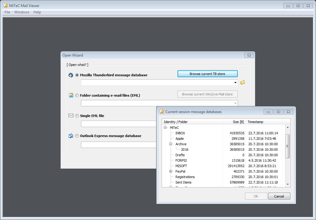 Full MiTeC Mail Viewer screenshot
